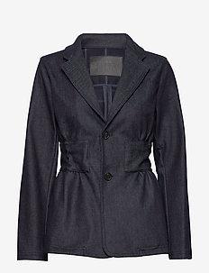 Ann Blazer - blazere - mid blue