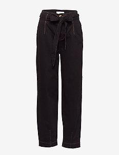 Able Pants - spodnie proste - caviar