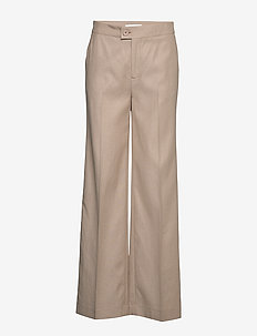 May Pants - hosen mit weitem bein - light wood