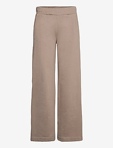 BLANCHE x BOOZT Hella Slit Pants - wide leg trousers - cinder