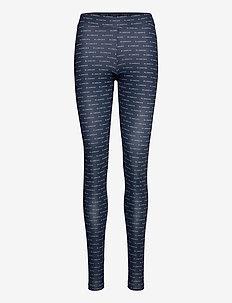 BLANCHE x BOOZT Comfy Leggings - BZ - leggings - duke blue