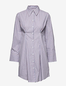 Marilyn Shirt Dress - DOVE BLUE