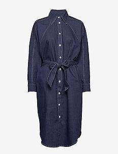 Alina Dress - shirt dresses - mid blue