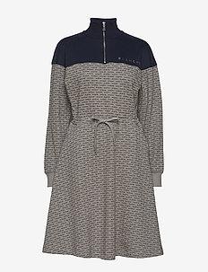 Nanne Dress - LIGHT GREY MELANGE