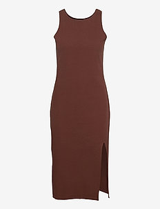 Rosa Rib Dress - bodycon dresses - soil