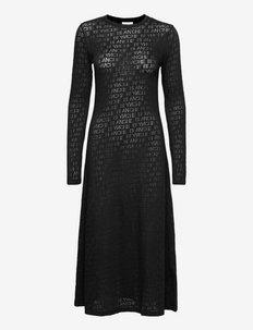 Lugga Dress - tshirt jurken - black