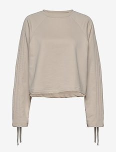 Jenny Sweater - crop tops - white sand