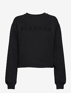 Alba Sweater - sweats - black