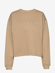 Alba Sweater - sweatshirts - light wood