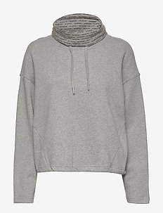 Nanne Sweat - sweatshirts - light grey melange