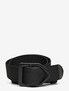 Buckle belt - gürtel - black
