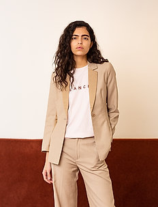 May Blazer - suits & co-ords - light wood