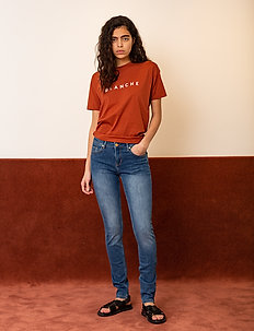 Main Contrast - logo t-shirts - spice