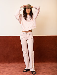 Hella Oversize Embossed - swetry - spring blush