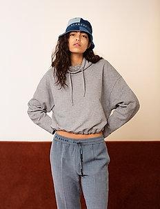 Nanne Sweat - swetry - light grey melange