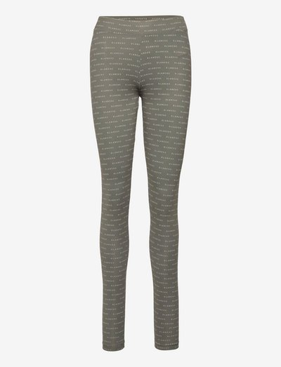 Comfy Leggings - leggings - agave green
