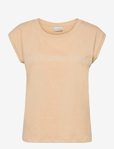 Main light tank - t-shirt & tops - marzipan