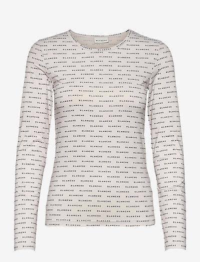 Comfy long sleeve - tops met lange mouwen - ecru