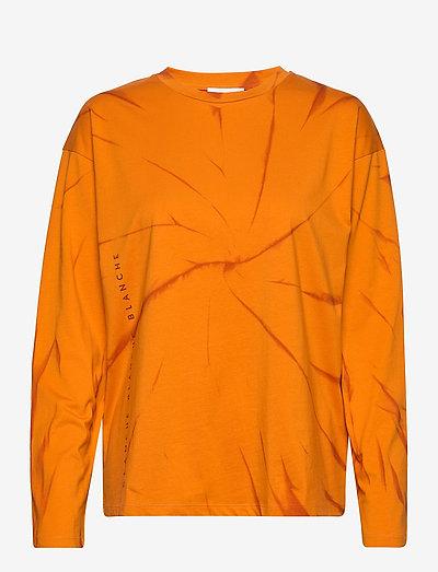 Main LS Tie Dye - tops met lange mouwen - desert sun