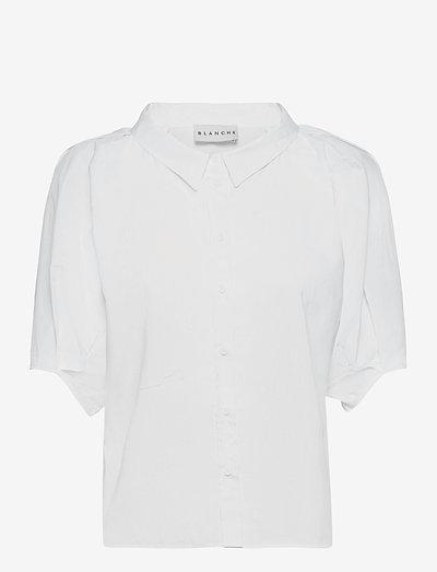 Bianca Shirt - kurzärmlige hemden - cornhusk