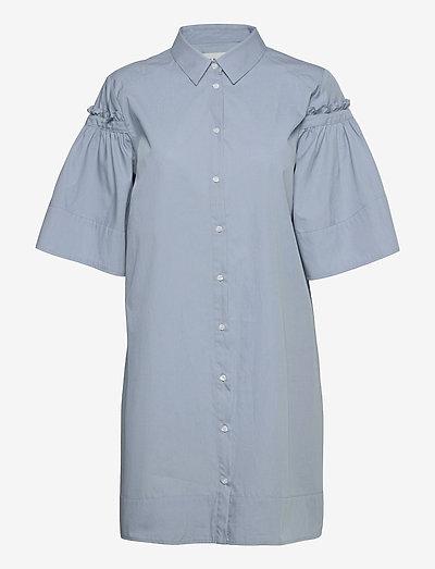 Jordan Shirt - sommerkjoler - dusty blue