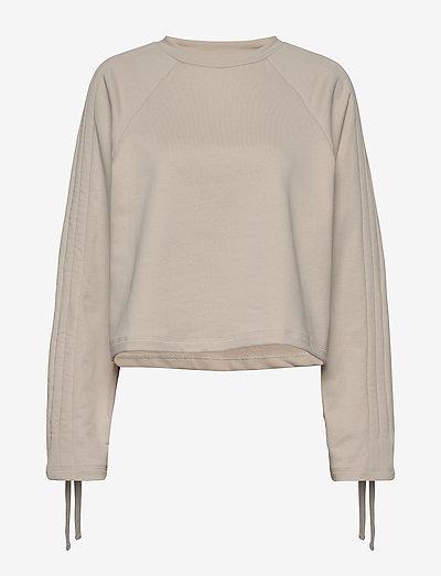 Jenny Sweater - sweatshirts en hoodies - white sand