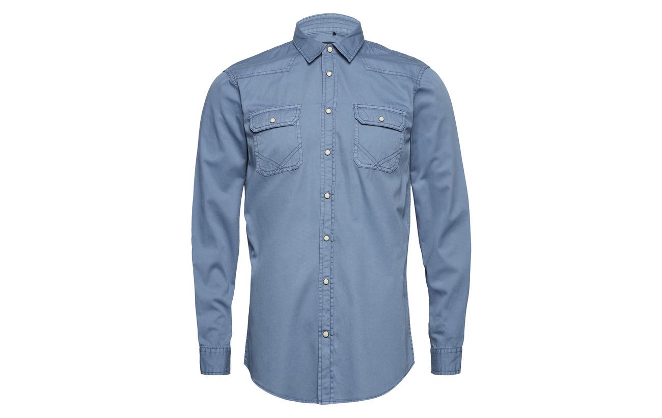 Blue Navy Shirt Dark Blend Navy Blend Dark Shirt wSqZ0d