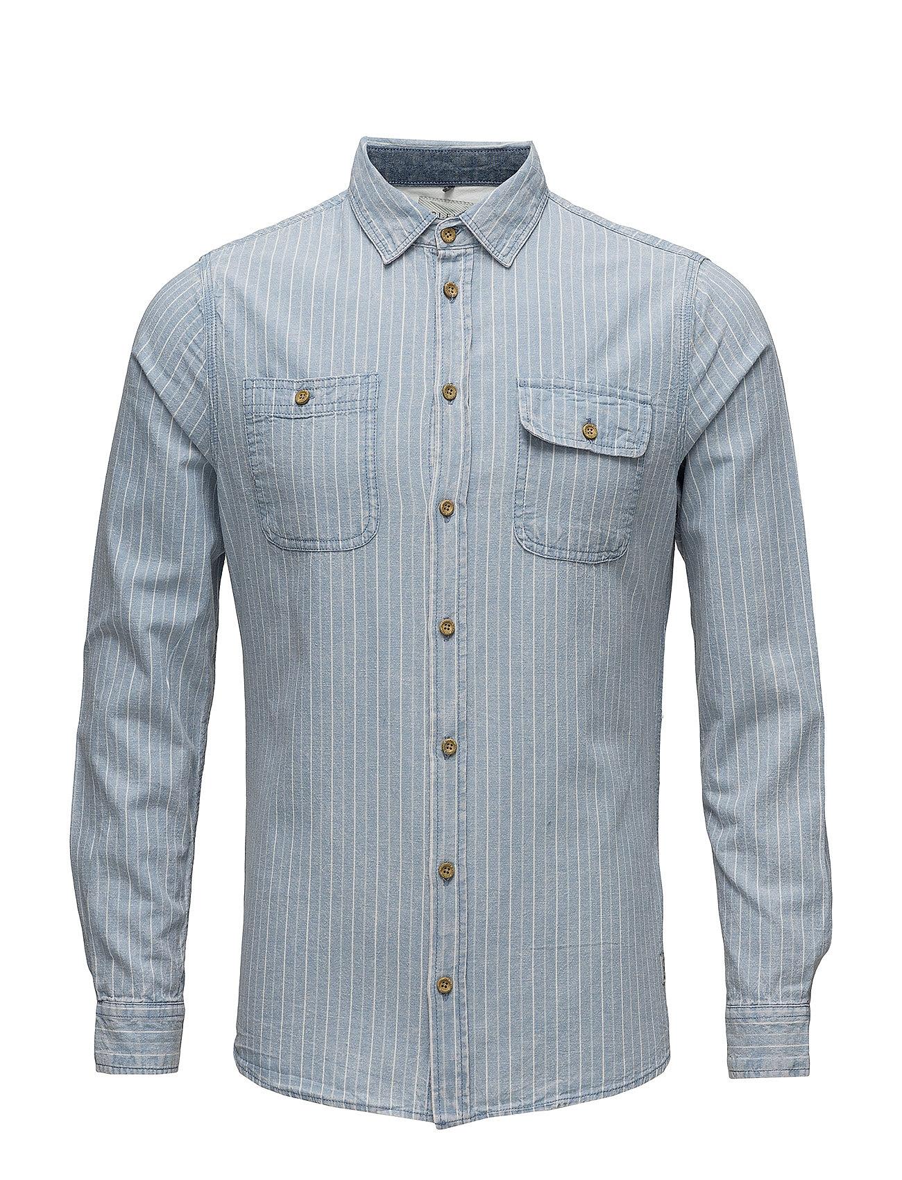 Blend Shirt - STEEL BLUE