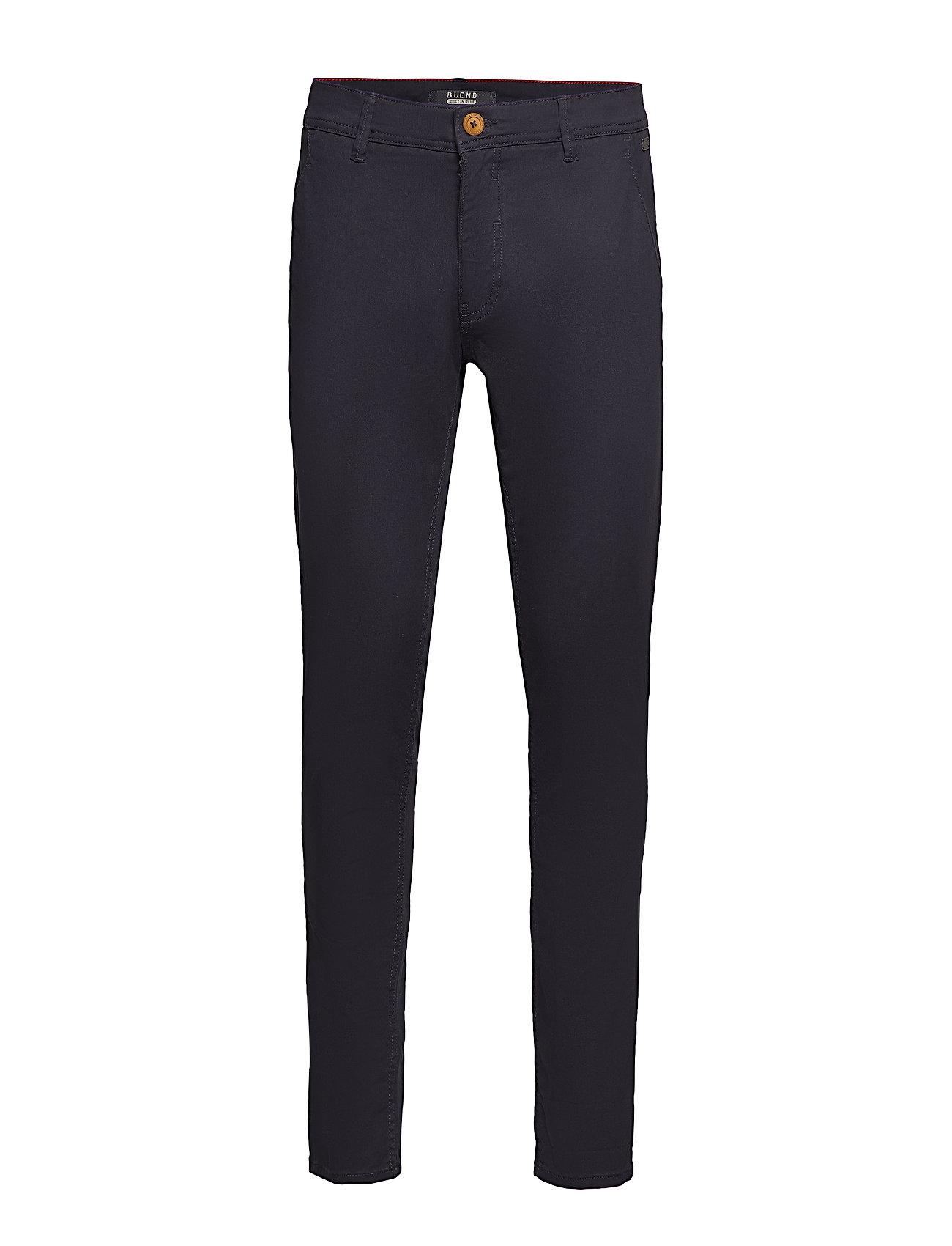 Blend BHNATAN pants NOOS - DARK NAVY BLUE
