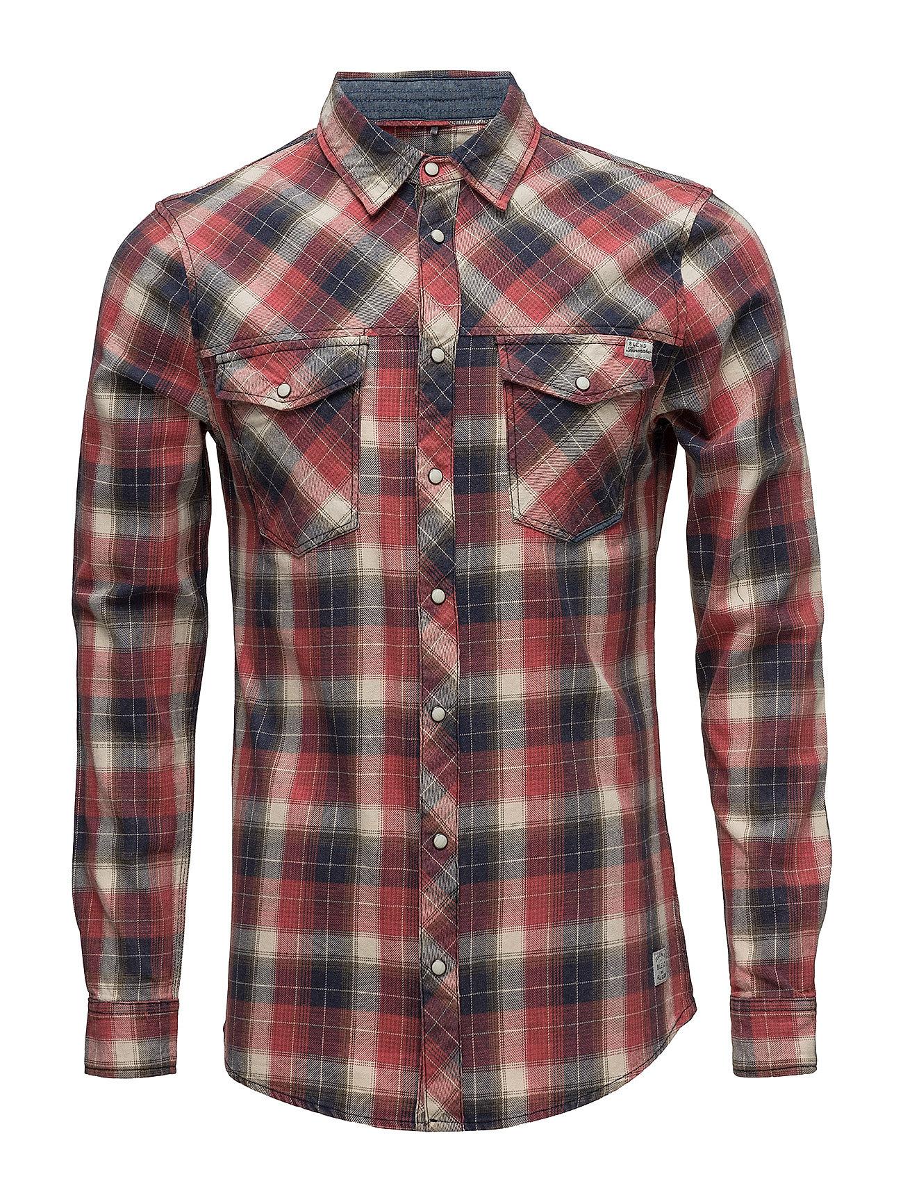 Blend Shirt - RUST RED