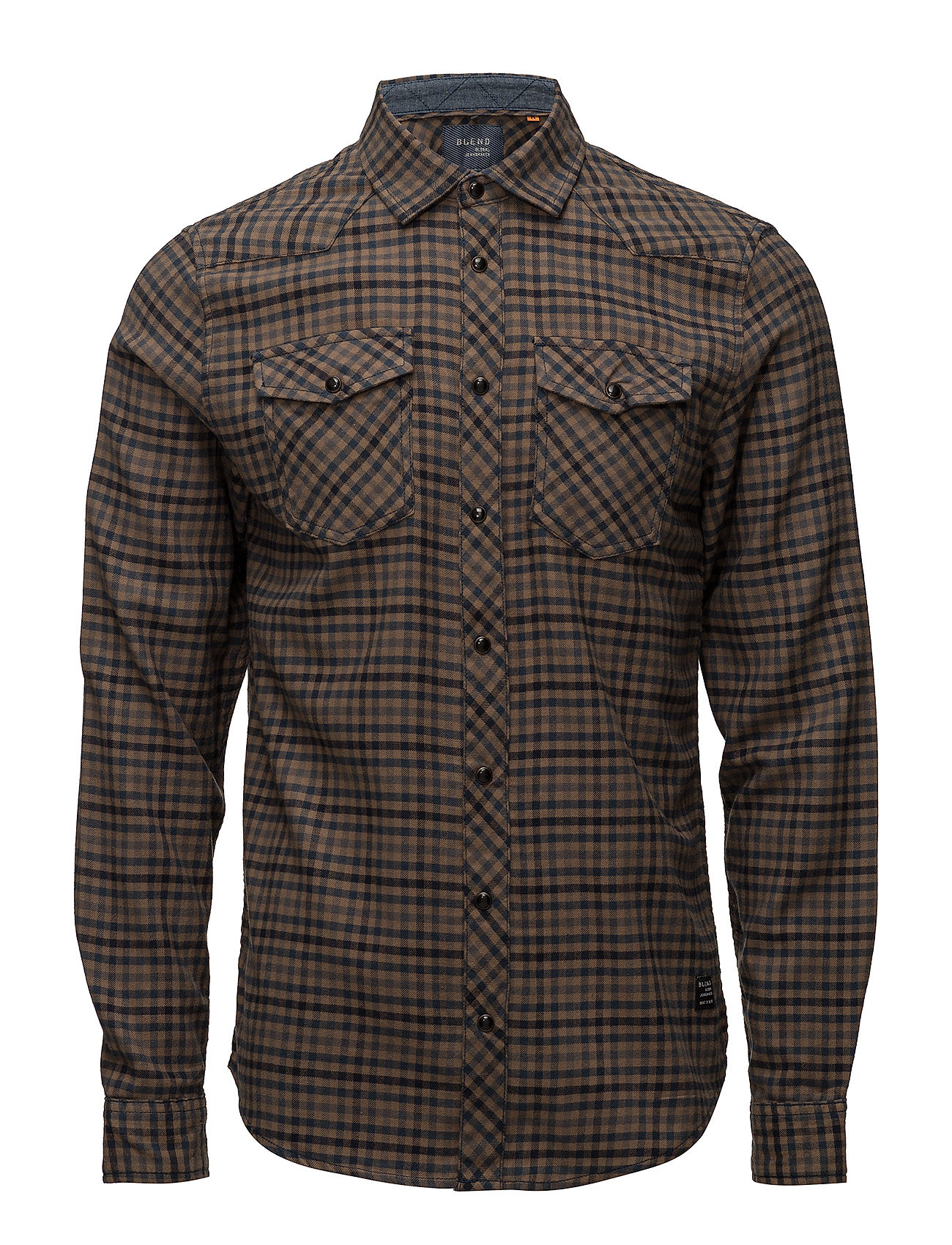 Blend Shirt Box - MOCCA BROWN