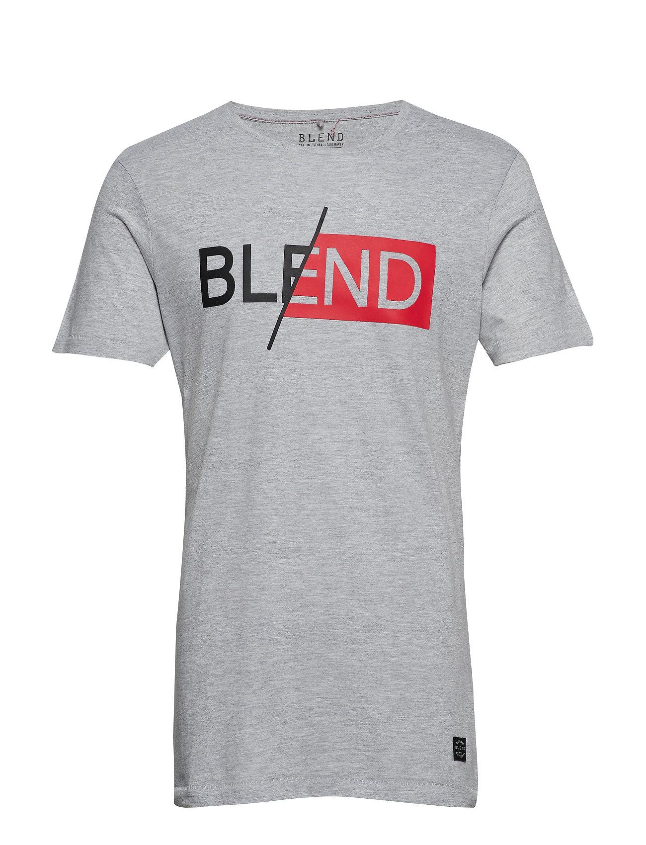 Blend Tee - STONE MIX