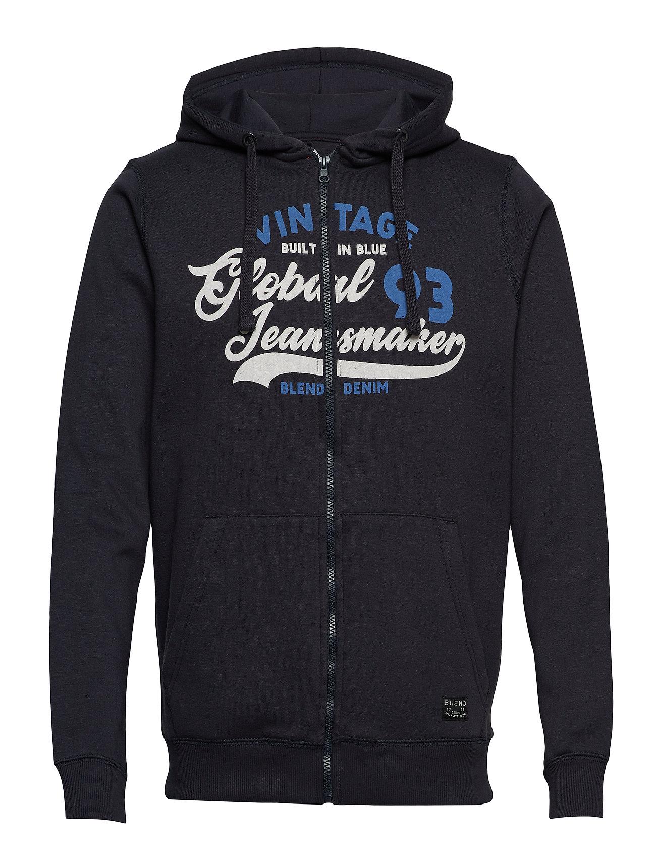 Blend Sweatshirt - DARK NAVY BLUE