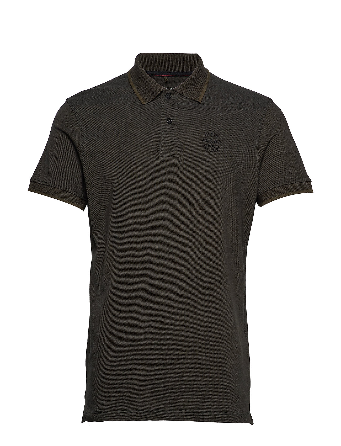 Blend Poloshirt - OLIVE NIGHT GREEN