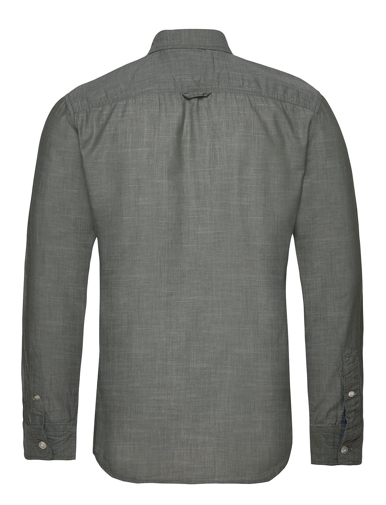 Lyle & Scott  ls slim fit poplin shirt   Laaja valikoima alennustuotteita   Miesten vaatteet