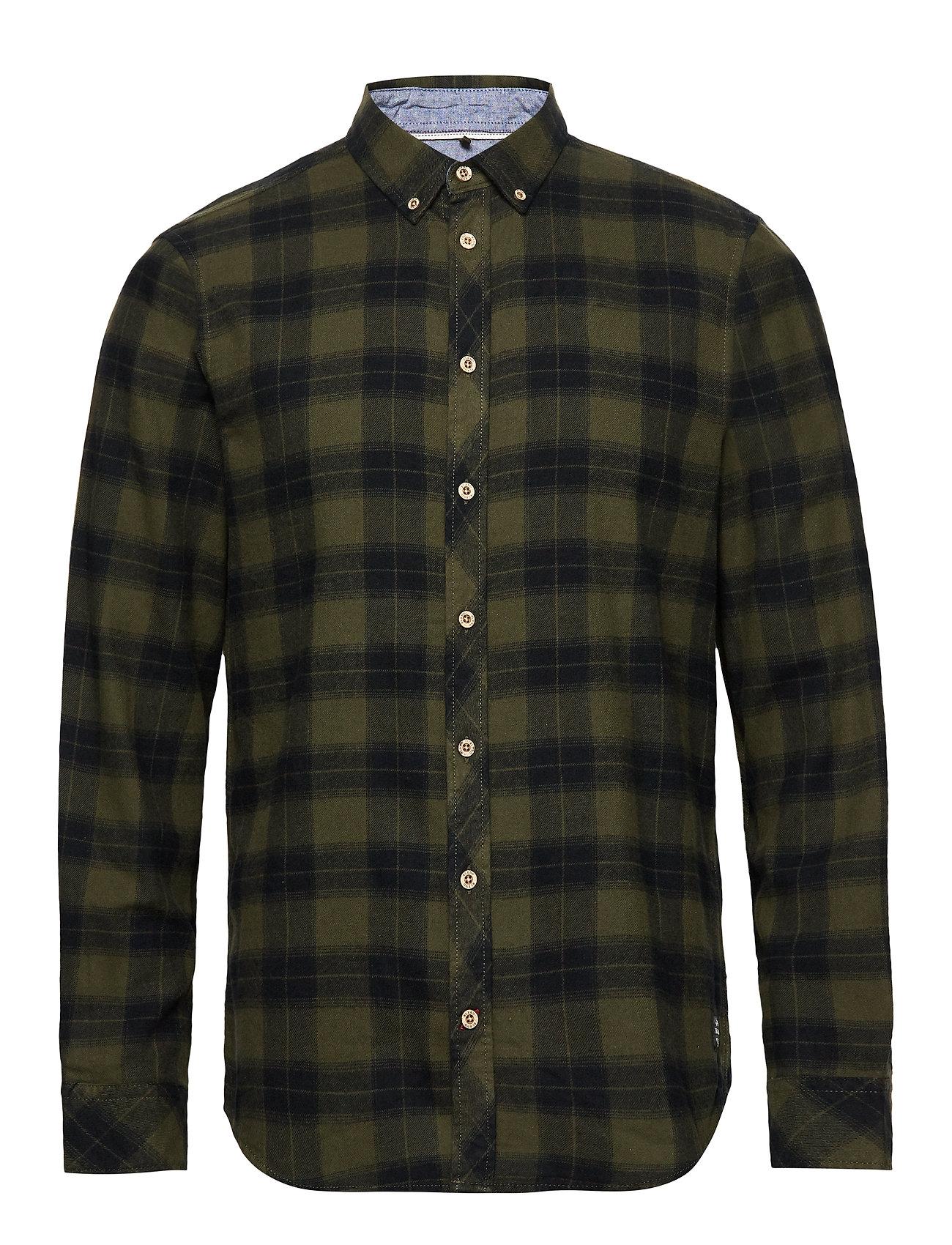 Blend Shirt - FOREST NIGHT GREEN