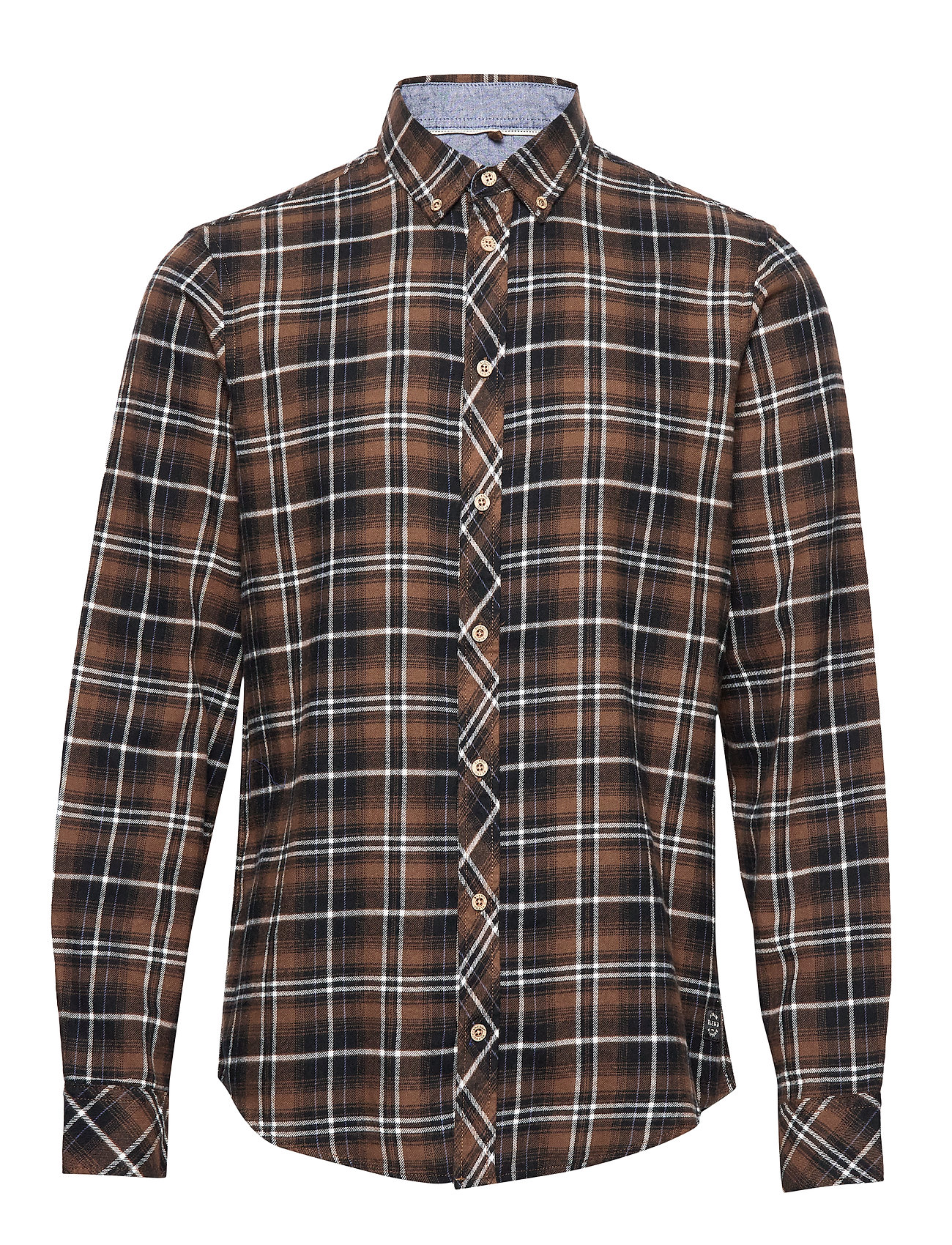 Blend Shirt - MUD BROWN