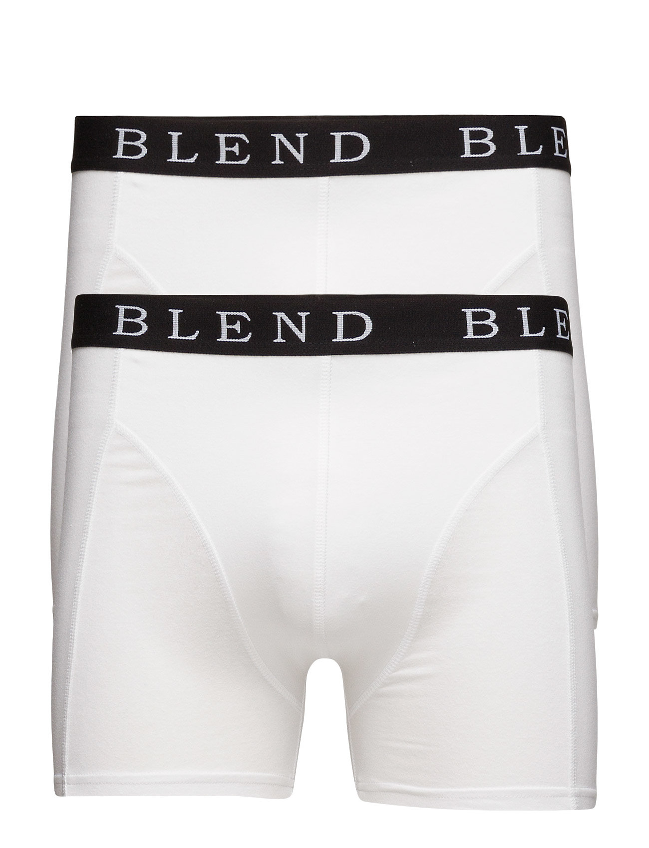 Image of Bhned Underwear 2-Pack Noos Boxershorts Hvid Blend (3448364273)
