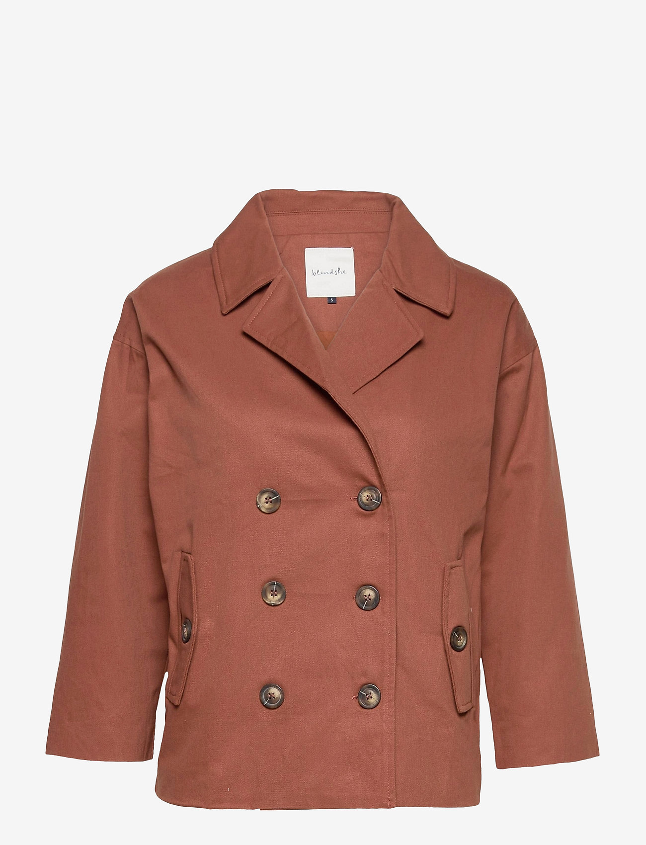 Blend She - BSLENNY L TRENCH CO - trenchcoats - chutney - 0