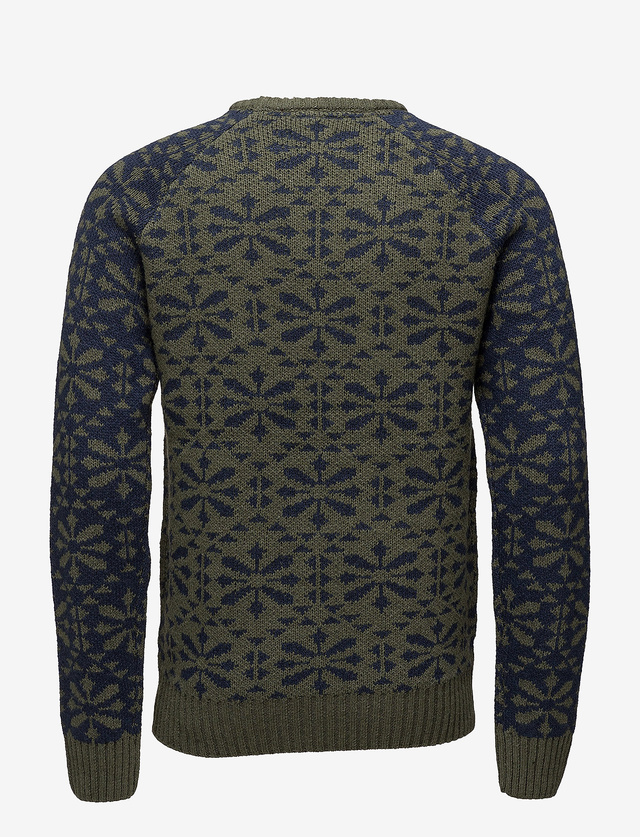 Blend - Pullover - pulls col rond - beetle green