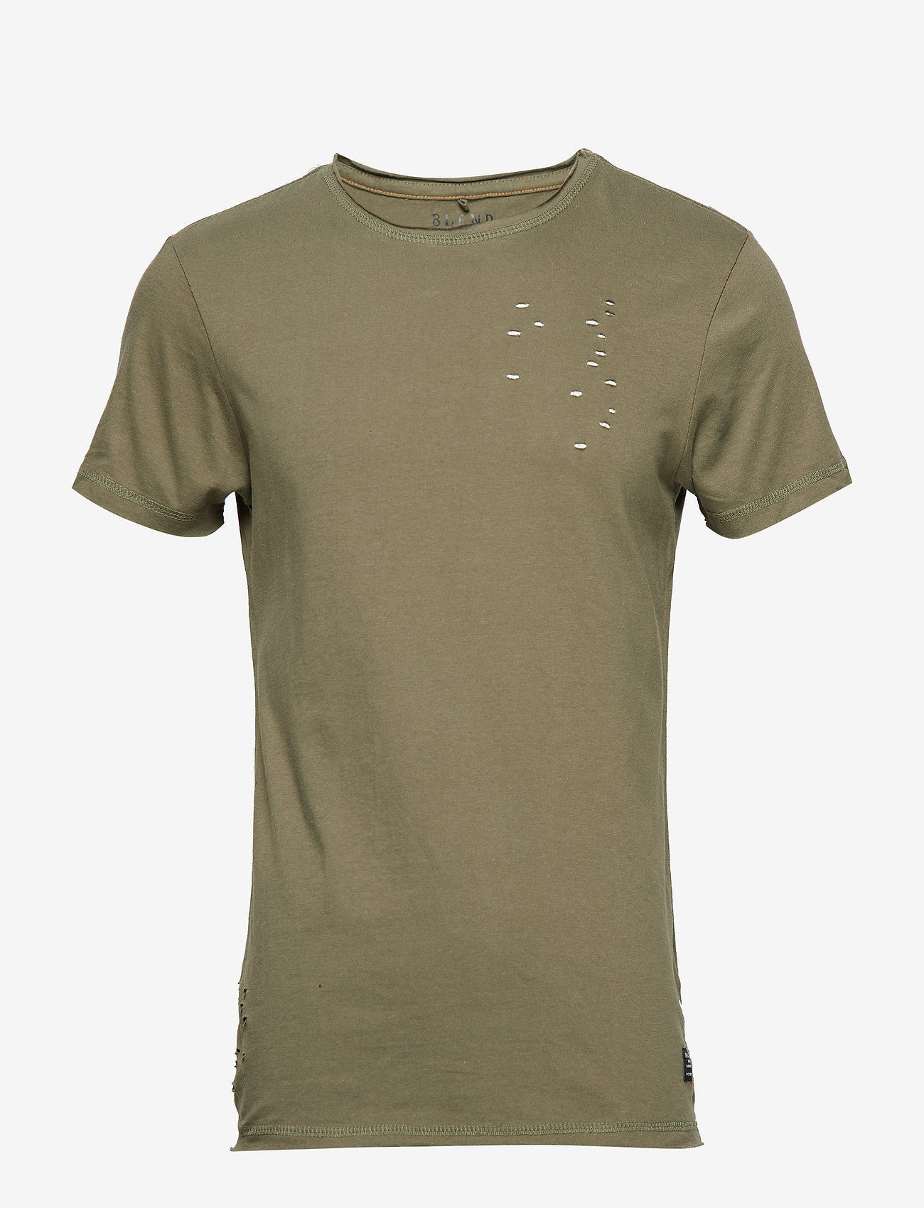 Blend - Tee - À manches courtes - dusty olive green