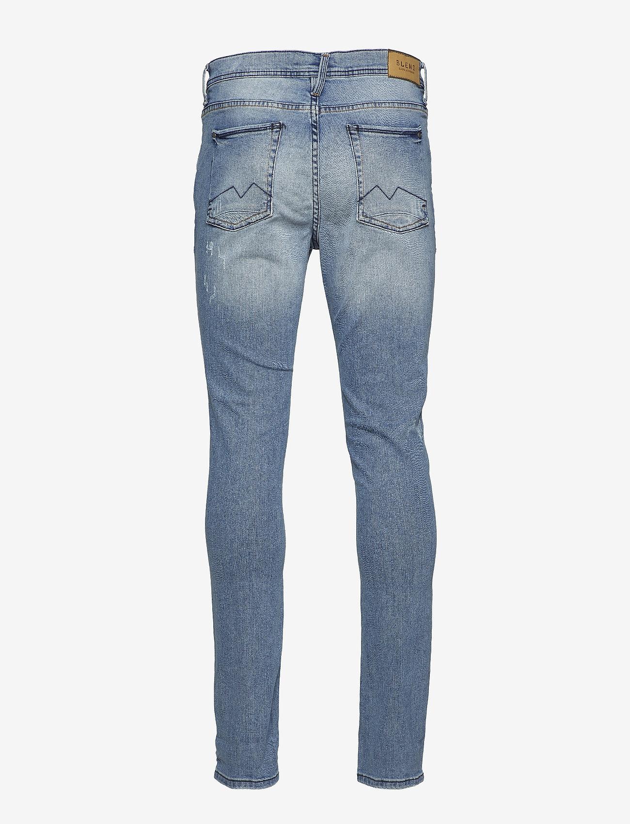 Blend - Jet fit w. destroy - NOOS Jeans - skinny jeans - denim lightblue - 1