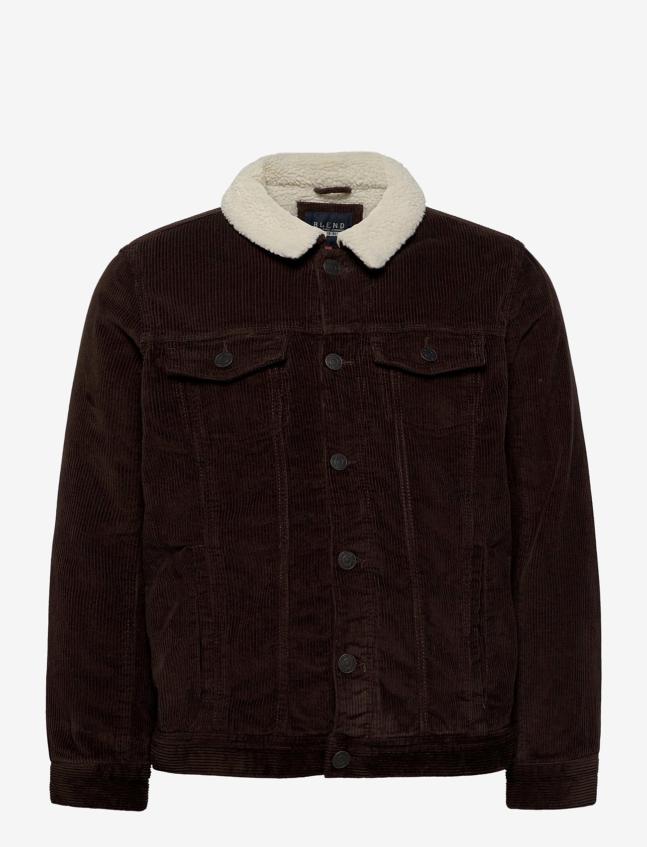 Blend - Outerwear - denim jackets - dark earth brown - 0