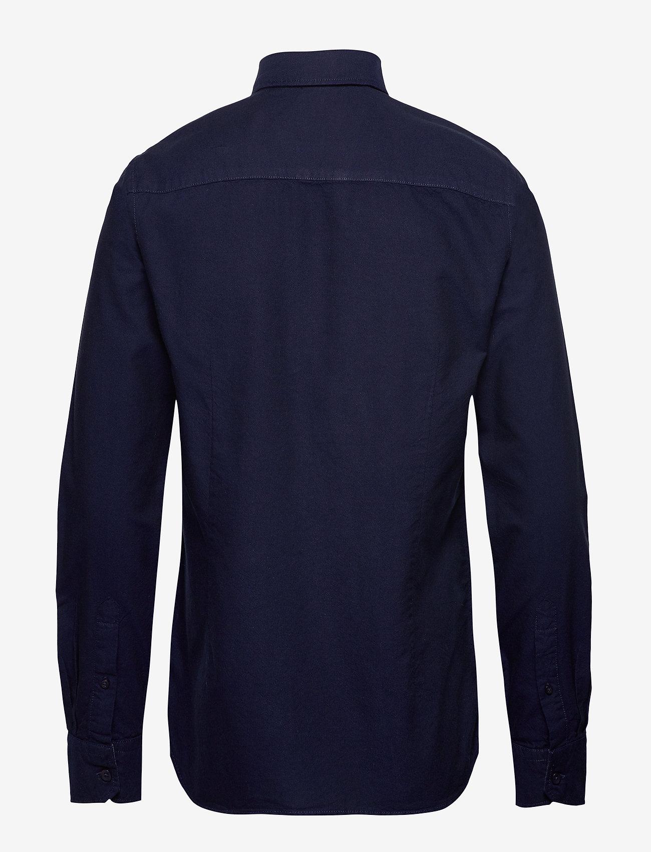 Blend - BHNAIL shirt Slim Fit - peruspaitoja - navy - 1