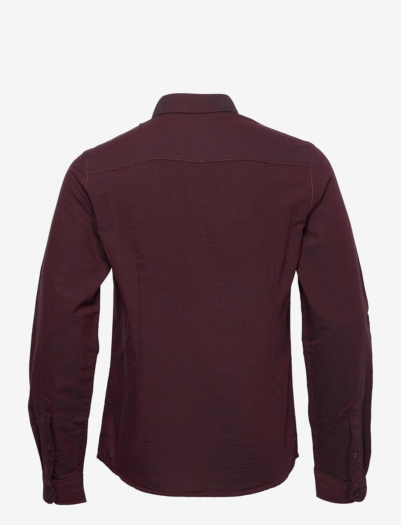 Blend - BHNAIL shirt Slim Fit - basic overhemden - tawny port - 1