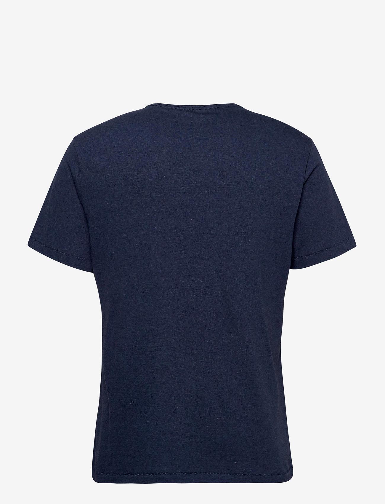 Blend Tee - T-skjorter DARK DENIM - Menn Klær