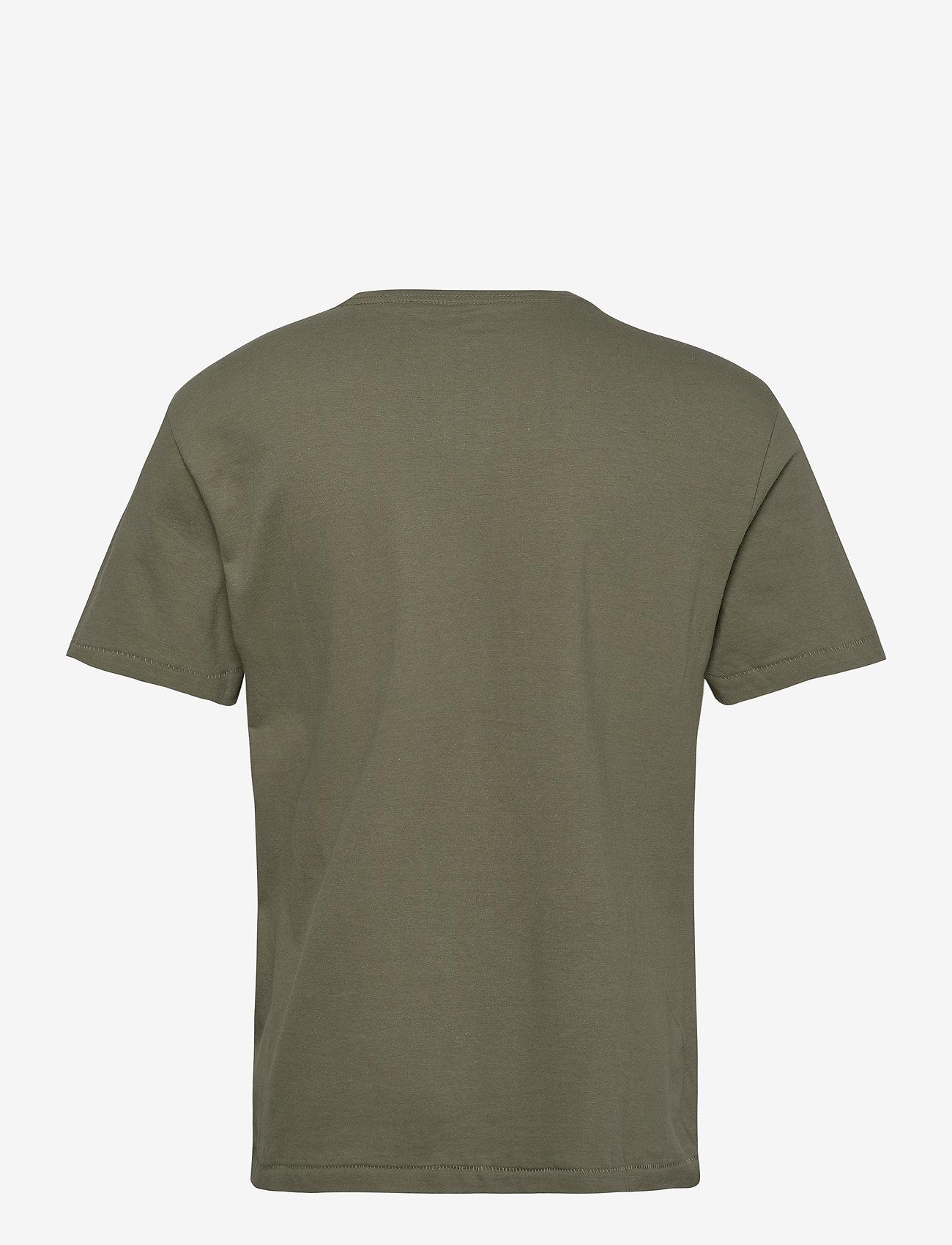 Blend Tee - T-skjorter DEEP LICHEN GREEN - Menn Klær