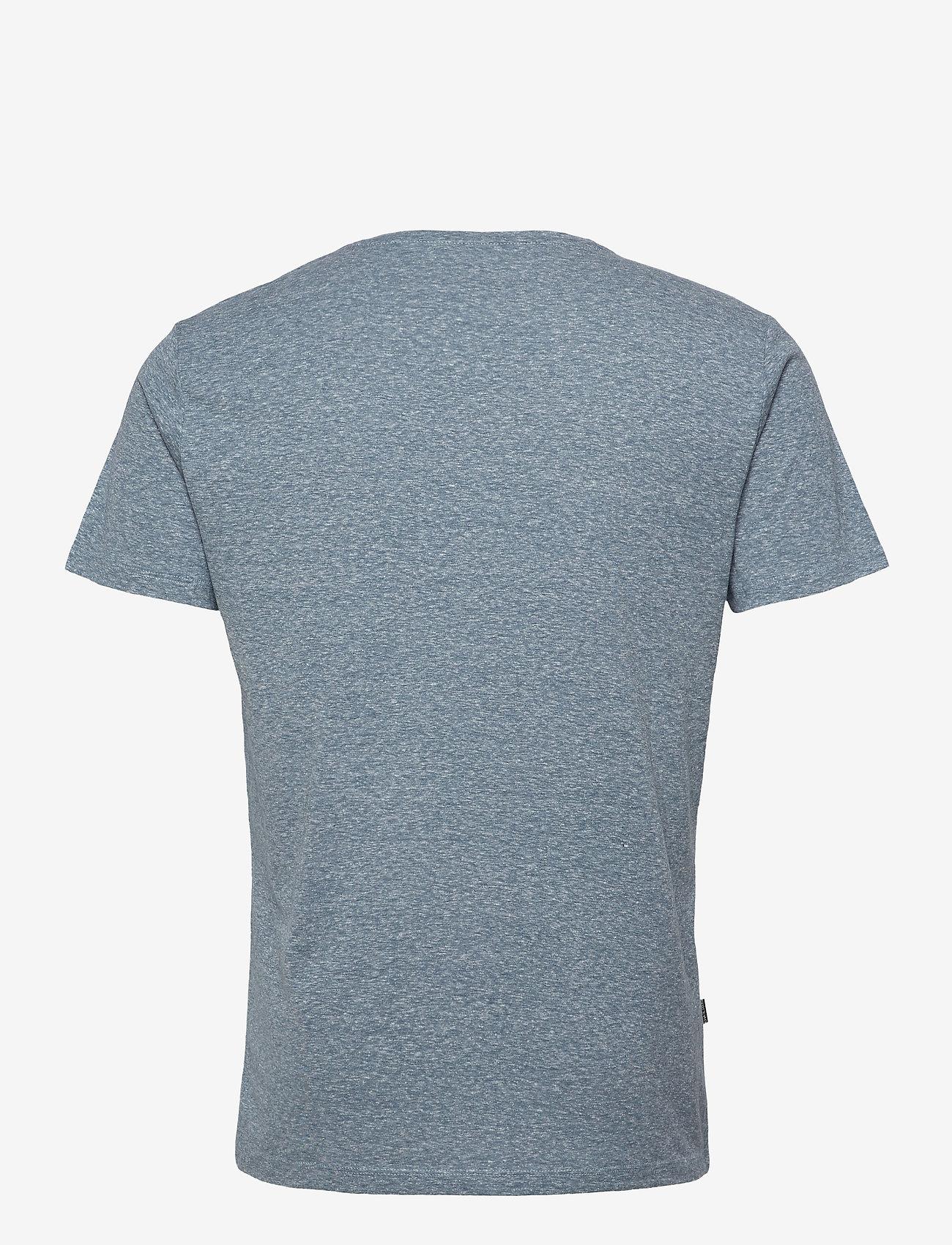 Blend - Tee - podstawowe koszulki - dark denim - 1