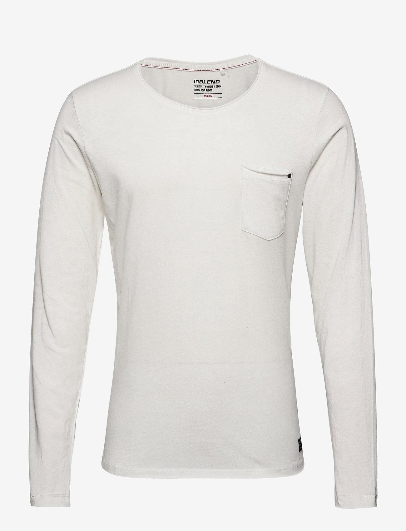 Blend - Tee - t-shirts basiques - snow white - 0
