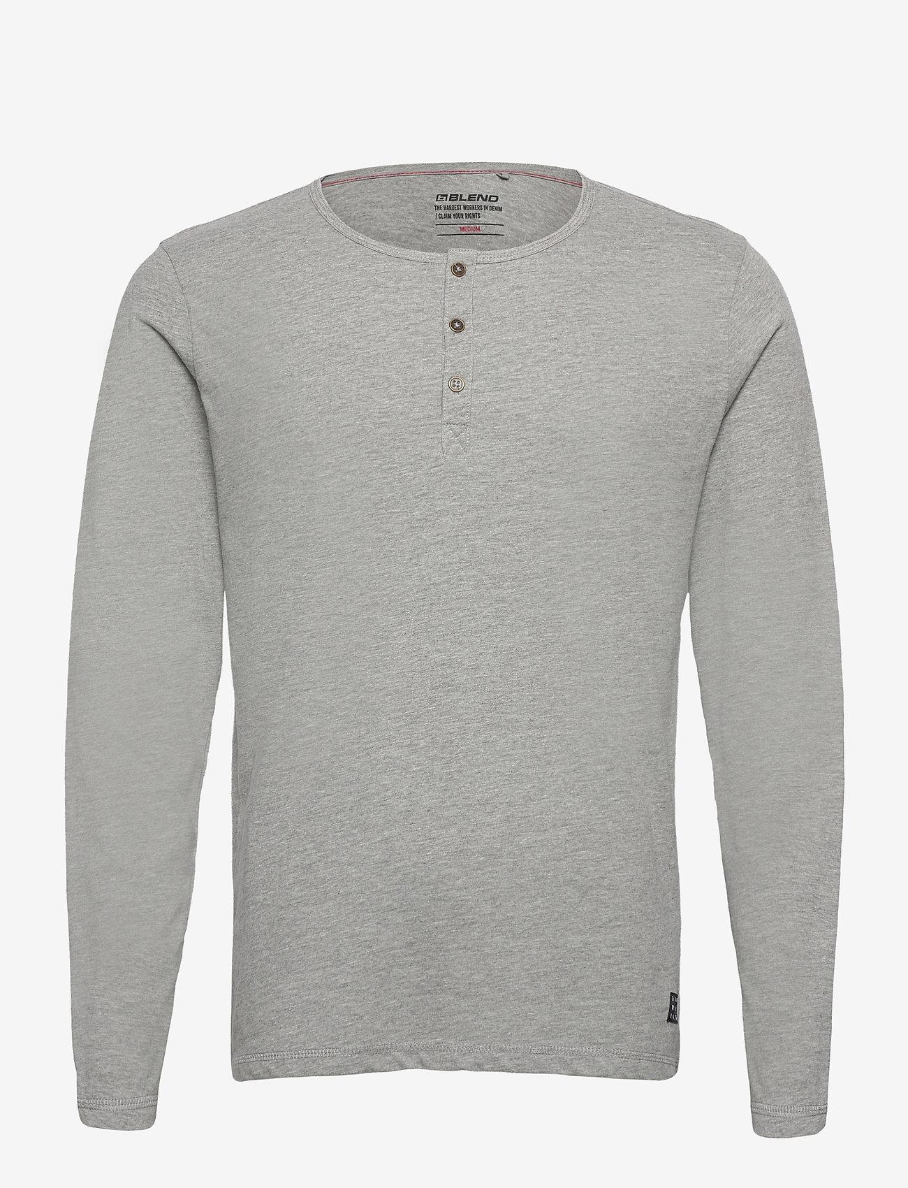 Blend - Tee - t-shirts basiques - stone mix - 0